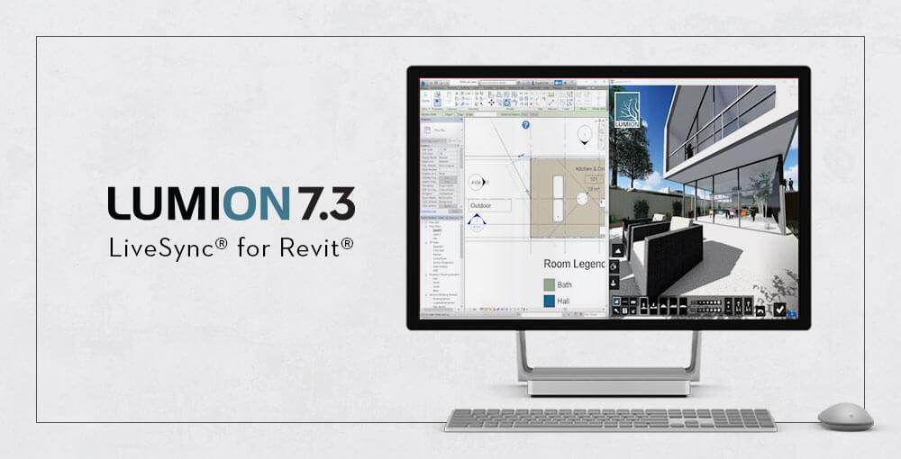 Lumion 7.3 LiveSync® for Revit® Özelliğiyle Projenizi Gerçek Zamanlı Aktarın 4