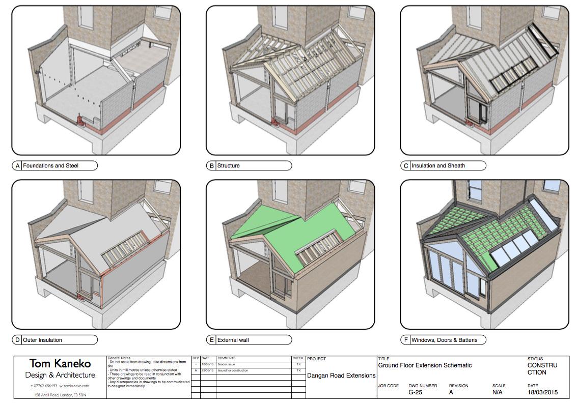 Tom Kaneko ile Tasarım ve Mimarlık: Eskizler, Tasarım ve Uygulama 9