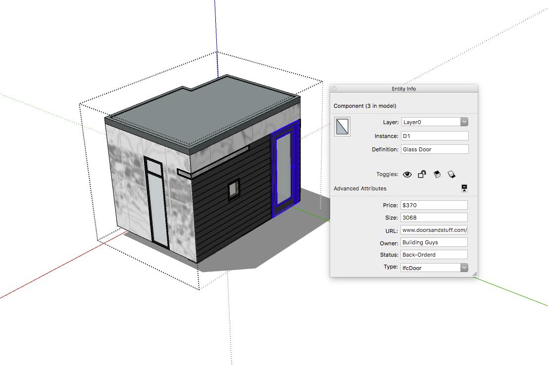 SketchUp'ta Nasıl Kapı ve Pencere Metrajı Alınır? 5