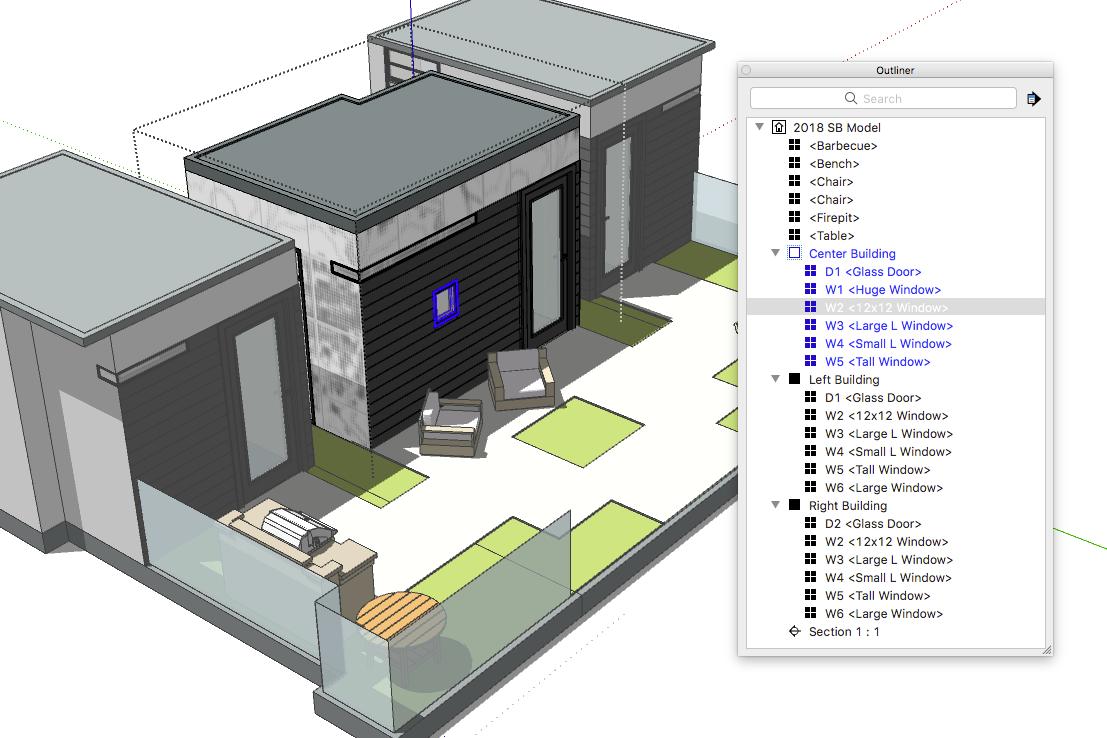 SketchUp'ta Nasıl Kapı ve Pencere Metrajı Alınır? 7