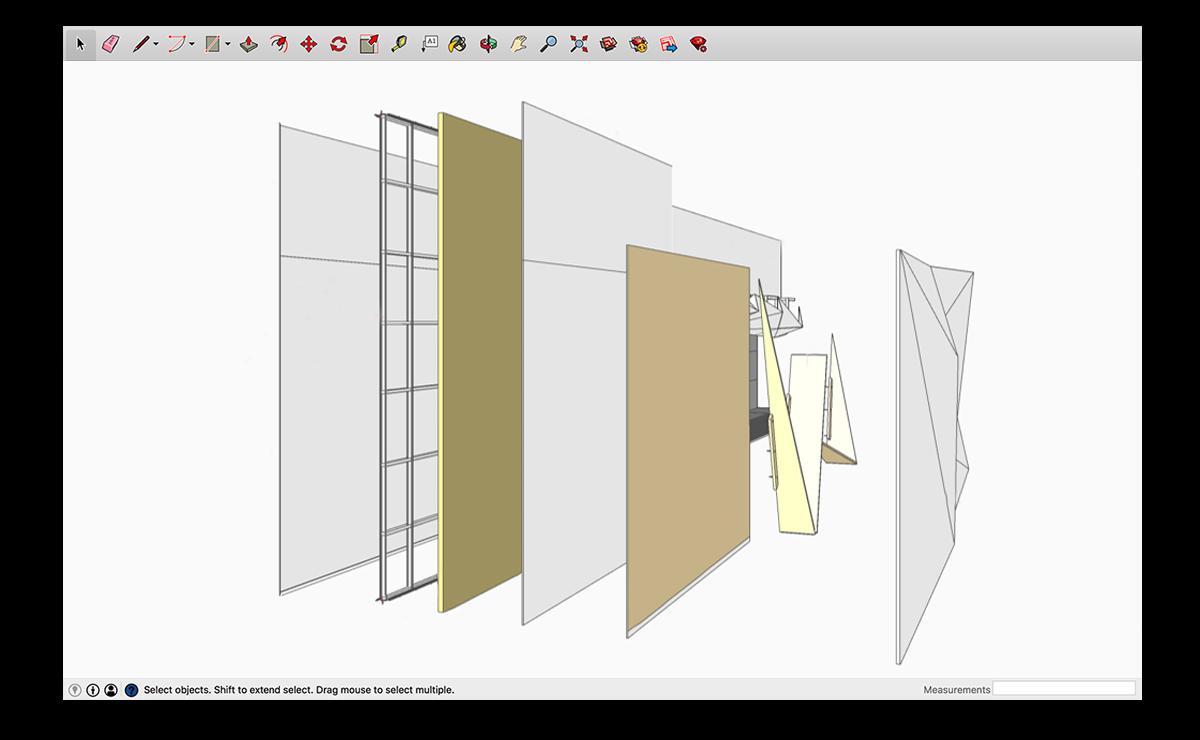 M Moser ile İnşa Edilebilir SketchUp Modelleri 4