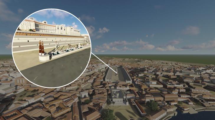 SketchUp ve Lumion ile Yeniden Hayata Döndürülen Antik Roma'yı Keşfedin! 10