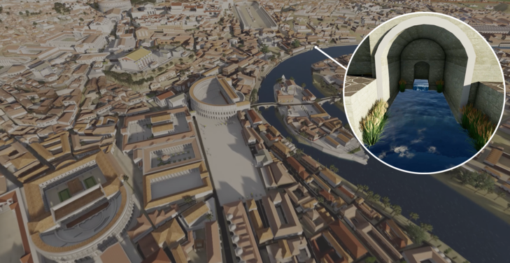 SketchUp ve Lumion ile Yeniden Hayata Döndürülen Antik Roma'yı Keşfedin! 9