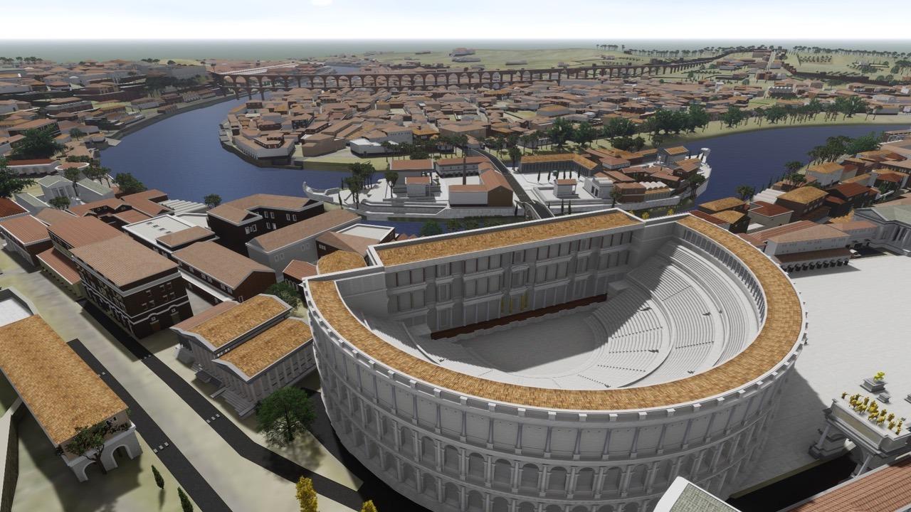 SketchUp ve Lumion ile Yeniden Hayata Döndürülen Antik Roma'yı Keşfedin! 3