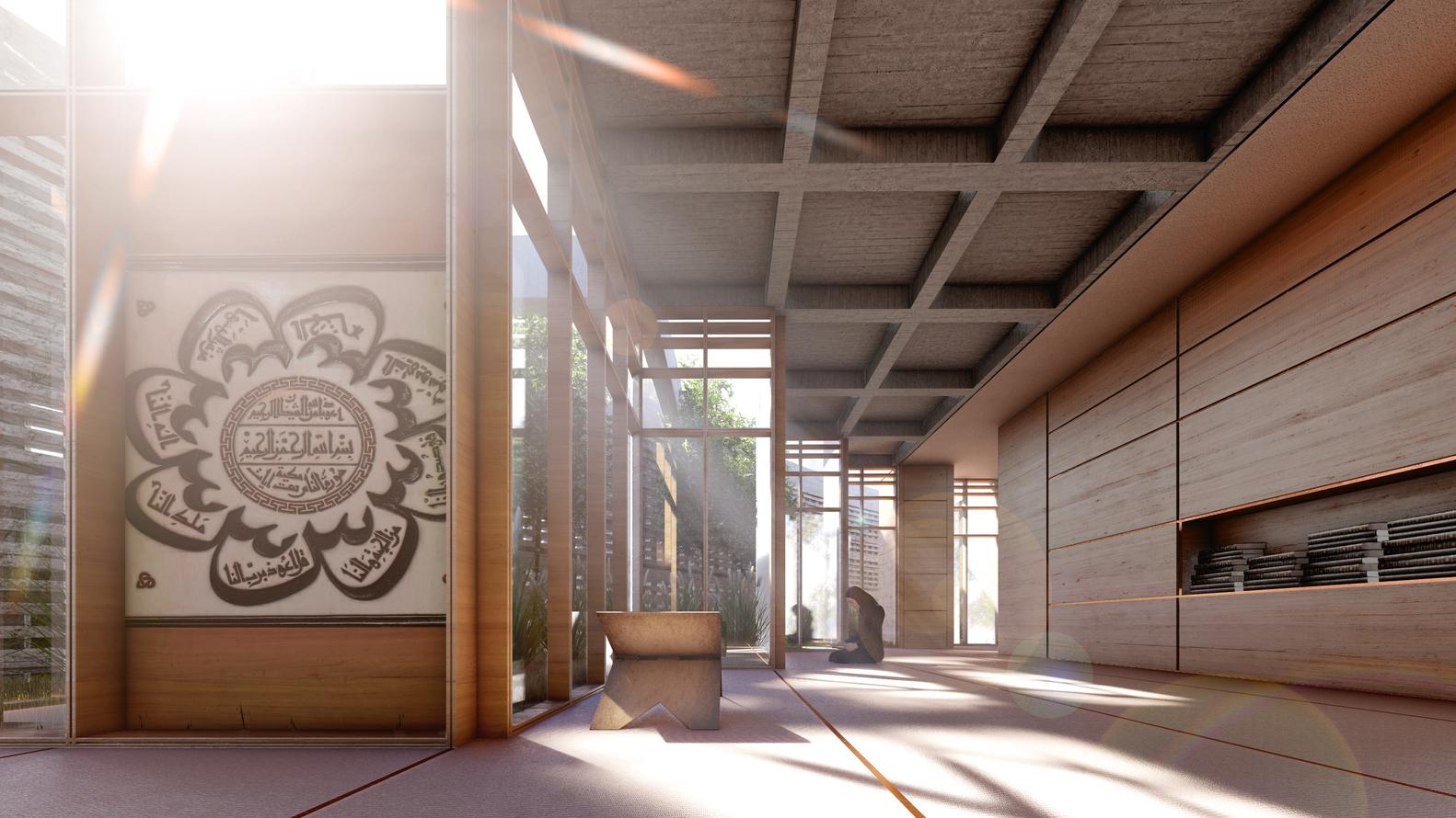 BeOffice Geleneksel Cami Mimarisini Yeniden Yorumladı 11
