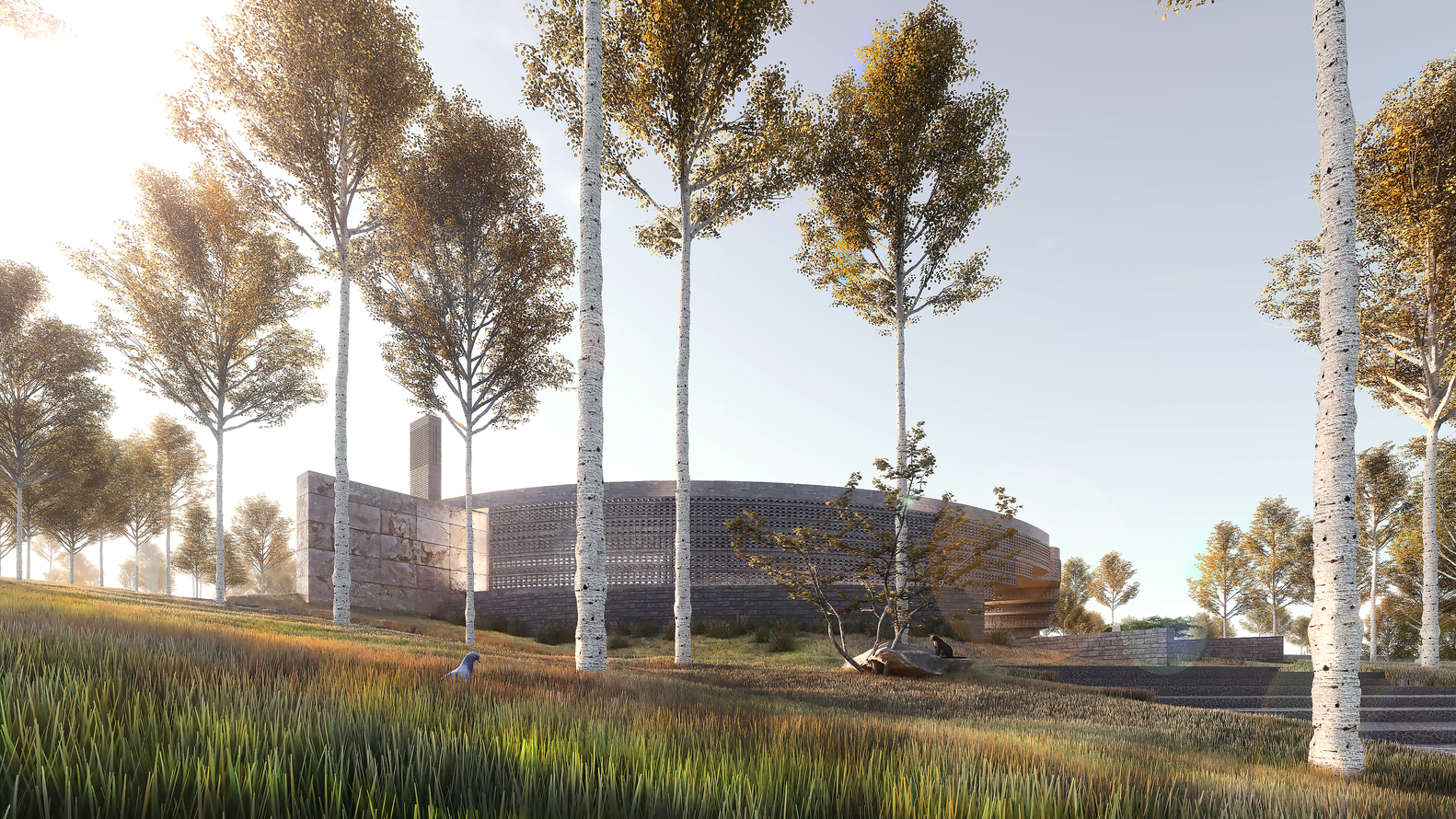 BeOffice Geleneksel Cami Mimarisini Yeniden Yorumladı 10