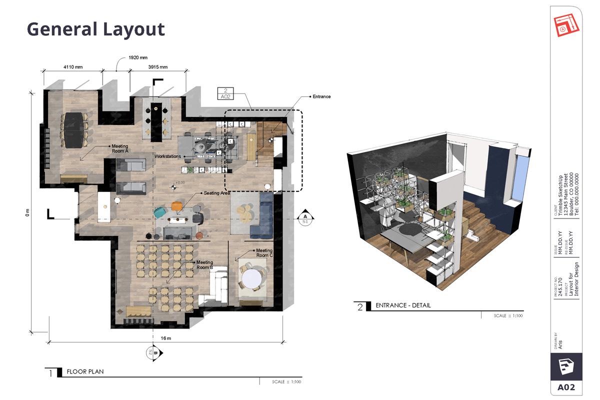 SketchUp ile İç Mekan Tasarım Projelerinizi Nasıl Sunarsınız? 4