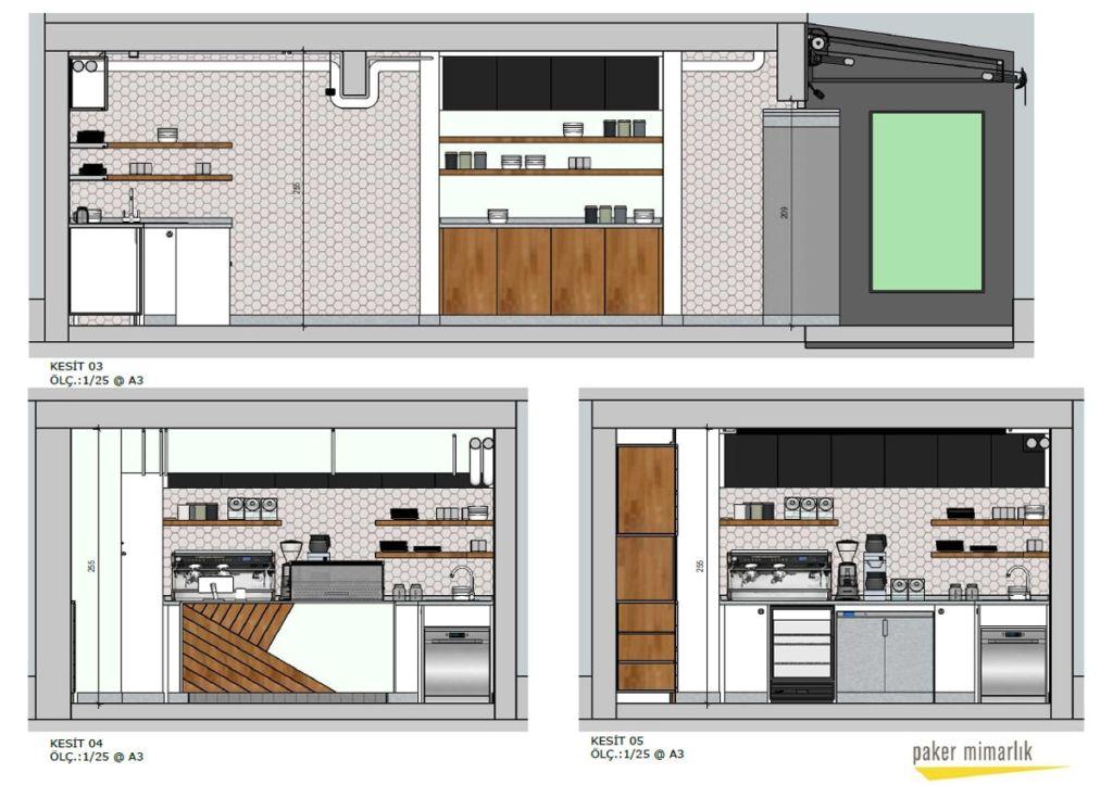 Paker Mimarlık - SketchUp ile İç Mimari Projeler Üzerine 9
