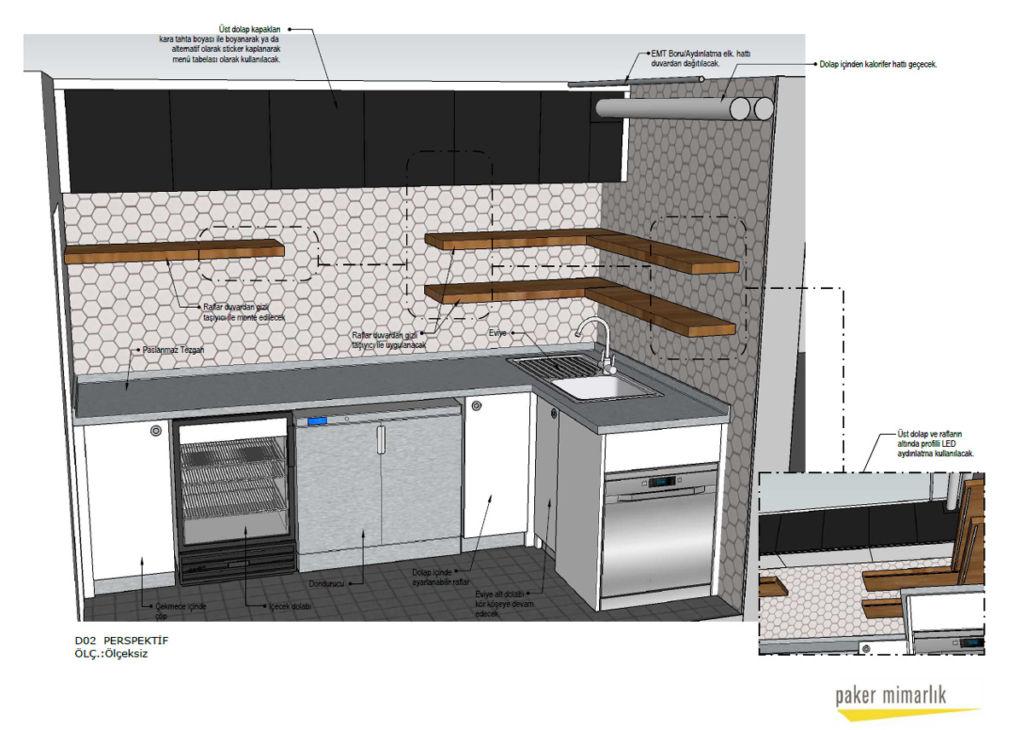 Paker Mimarlık - SketchUp ile İç Mimari Projeler Üzerine 10