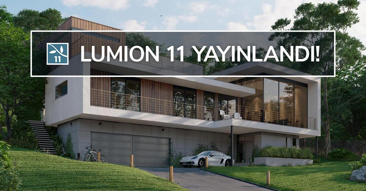 Lumion 11 Yayınlandı! Yenilikleri Keşfedin. 5