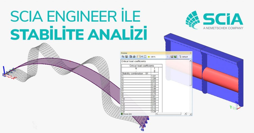 SCIA Engineer ile Stabilite Analizi 15