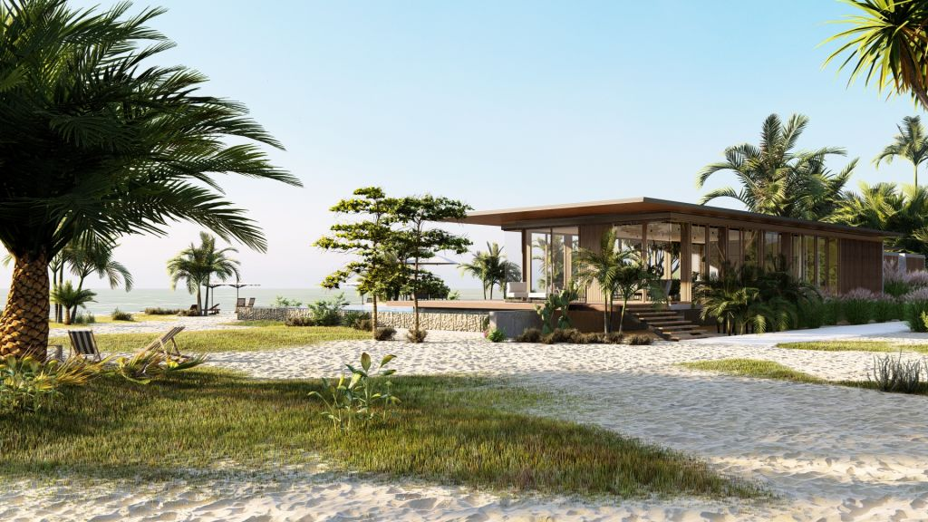 2021 Mimarlar Icin Lumion 101 Blog Beach House 2 Ext SeaView