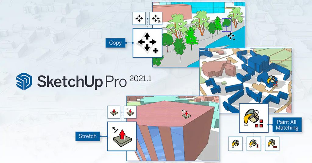SketchUp 2021 1 PointRelease Blog Hero 1200x628 1