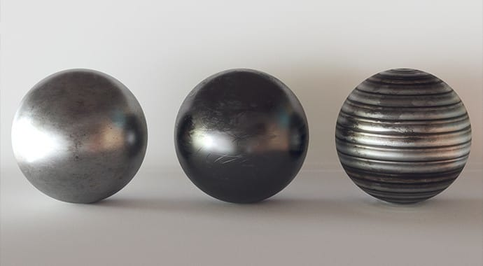 V Ray for 3dsMax 16 Metalness A
