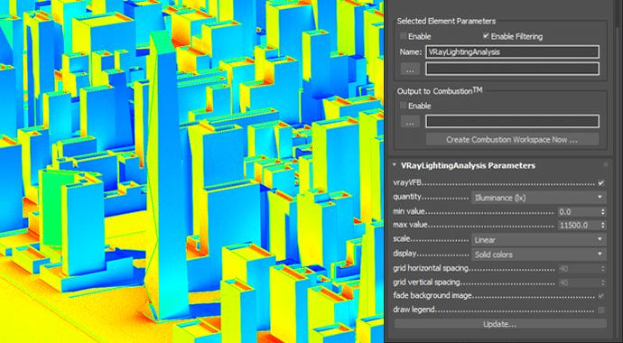 V Ray for 3dsMax Lighting Analysis NEW