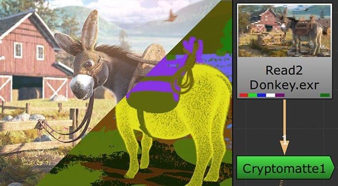 V Ray for 3dsMax cryptomatte.
