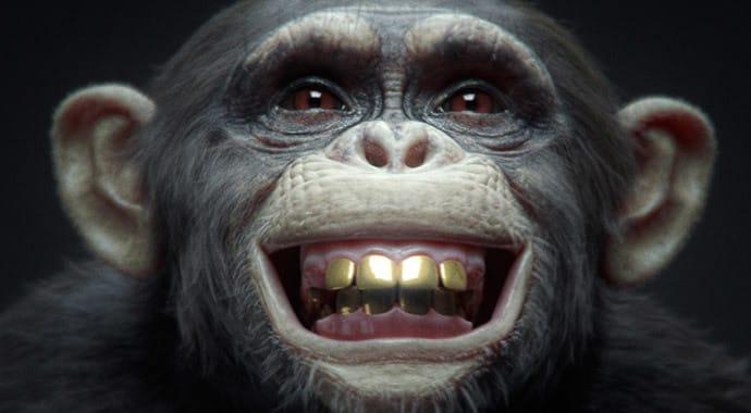 V Ray for 3dsMax nki winimax monkey