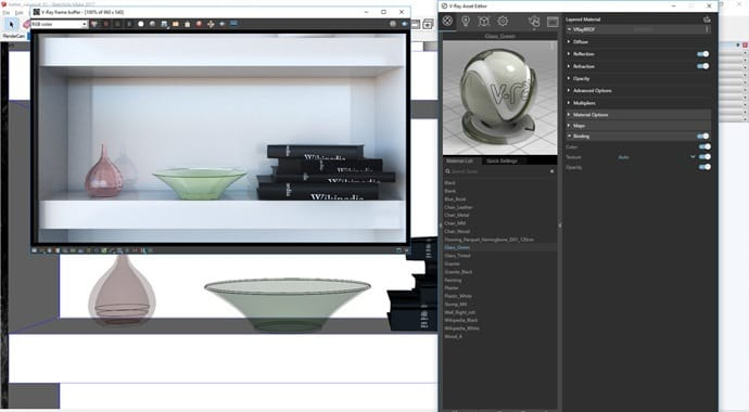 vray for sketchup Better Viewport Materials A