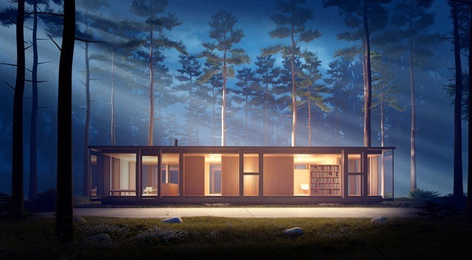 vray for sketchup Environment Fog D