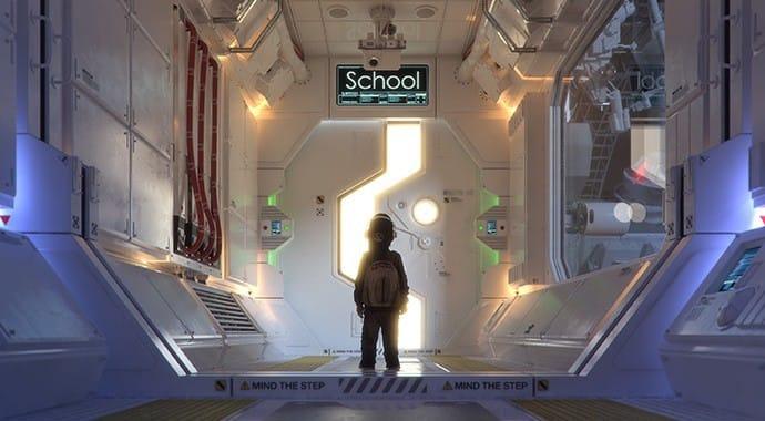 Chaos Group V Ray Andrea Bertaccini Tredistudio Space Child