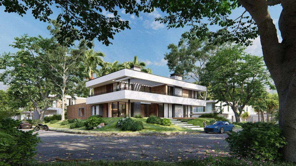 2021 Mimarlar Icin Lumion 101 Blog Residential Exterior Van Manen