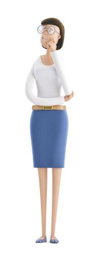 Lumion Download business women 600x1500 1