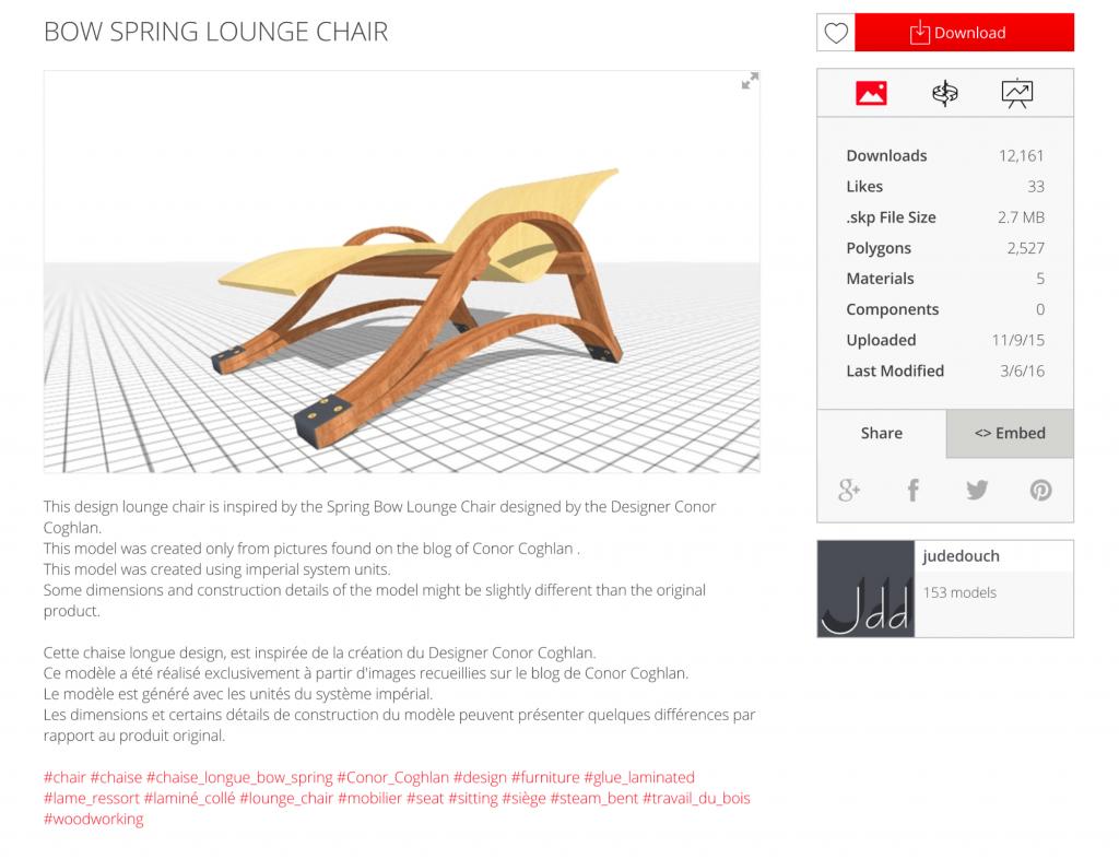 SketchUp 3D Warehouse Update